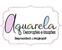 Logomarca Aquarela Decorações Sorocaba